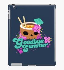 Goodbye Summer iPad Case/Skin