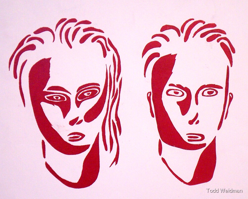 Woman and Man by Todd Weidman
