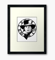 Marty McFly. Framed Print