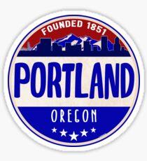 PORTLAND OREGON MOUNT HOOD MOUNTAINS MOUNTAIN VOLCANO Sticker