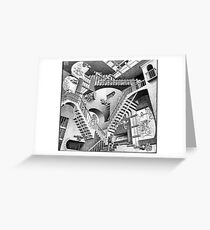 MC Escher Greeting Card