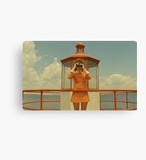 Moonrise Kingdom casttle Canvas Print