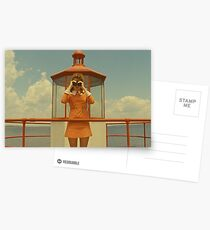 Moonrise Kingdom casttle Postcards