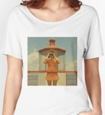 Moonrise Kingdom casttle Women's Relaxed Fit T-Shirt