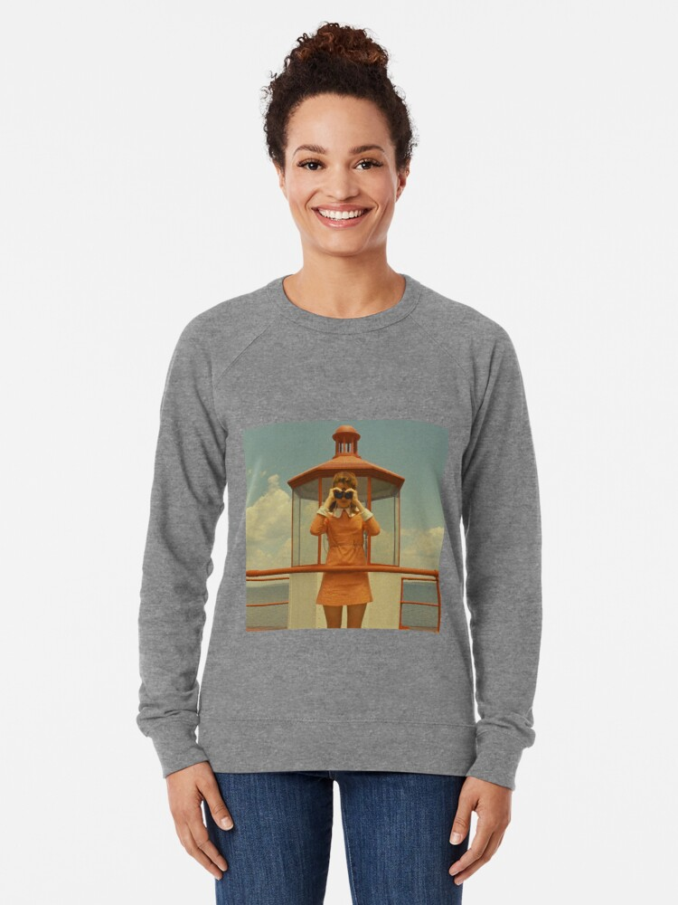 Vista alternativa de Sudadera ligera Moonrise Kingdom casttle