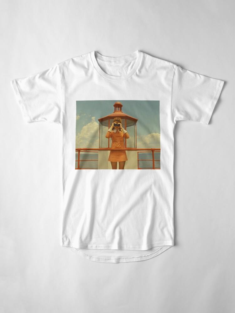 Vista alternativa de Camiseta larga Moonrise Kingdom casttle