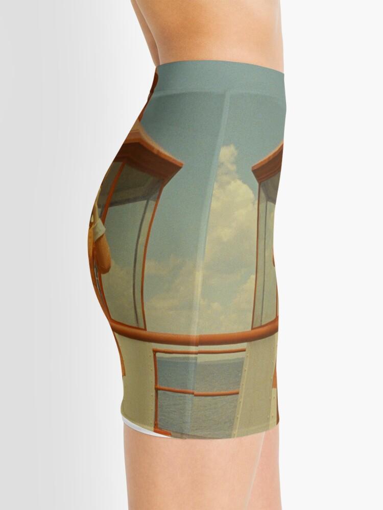 Vista alternativa de Minifalda Moonrise Kingdom casttle