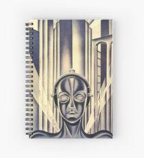 Metropolis Spiral Notebook