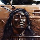 indian apache, car airbrush by hottehue