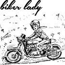 Biker Lady! (1) by RFlores