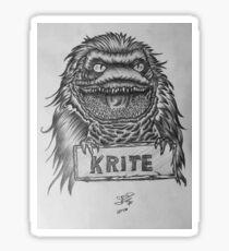 Critters  Sticker