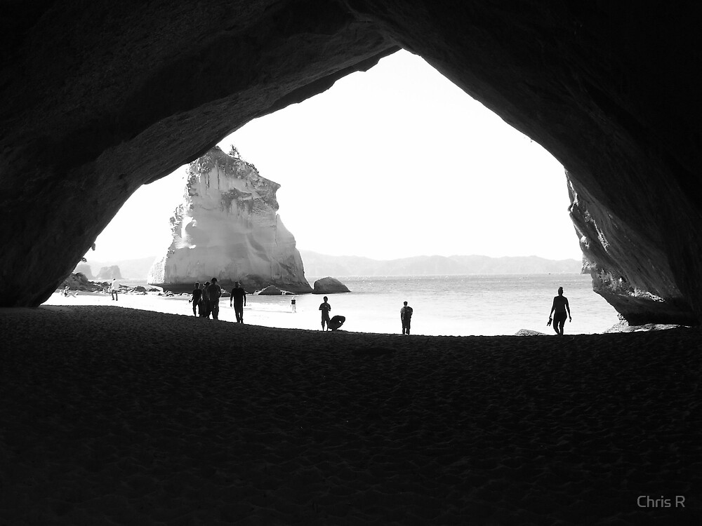 Cathedral Cove - Coromandel by Chris R