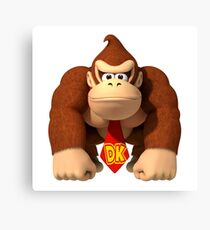 Donkey Kong Country Canvas Print