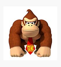 Donkey Kong Country Photographic Print