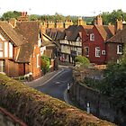 Aylesford High Street from Cage Hill by Sue Purveur