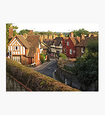 Aylesford High Street from Cage Hill Photographic Print