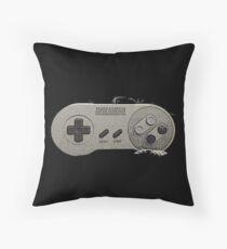 Super Nintendo Controller Throw Pillow