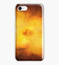 Huge realistic hot dynamic explosion iPhone Case/Skin