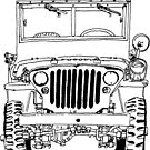 Light Utility Willys Model MB Jeep (1) by RFlores