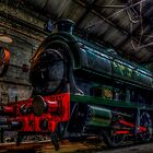 Tanfield Railway Shed by Andrew Pounder