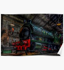 Tanfield Railway Shed Poster