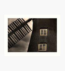 North Leverton Windmill - Close up Art Print