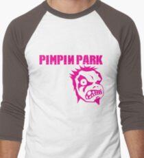 Pimpin' Park BBoy Crew Men's Baseball ¾ T-Shirt