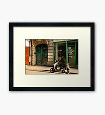 Rue Greneta Framed Print