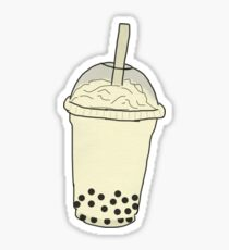 Boba tapioca tea drink  Sticker