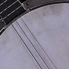 Banjo Abstract by WildestArt