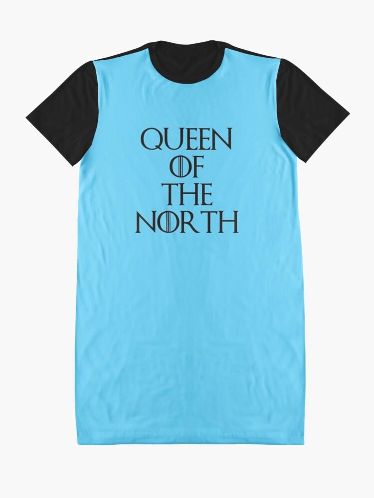 Alternative Ansicht von Königin des Nordens T-Shirt Kleid