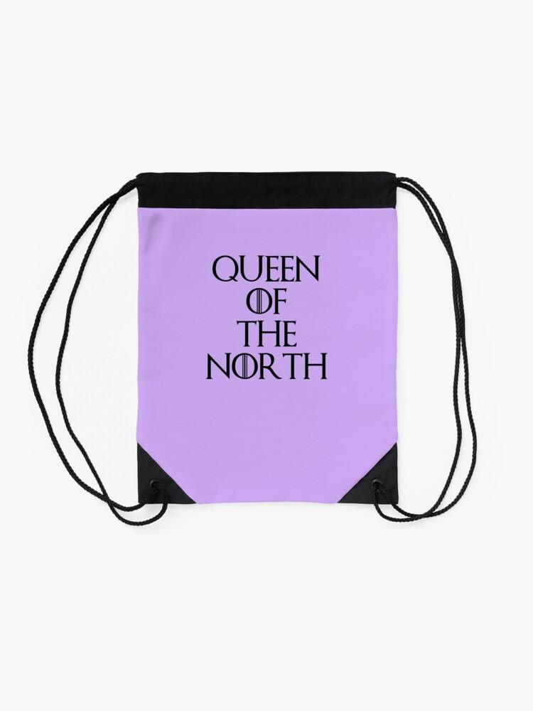 Alternative Ansicht von Königin des Nordens Turnbeutel