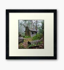keppel hut Framed Print