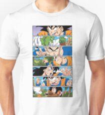 Dragon Ball - Z Fighters Manga T-Shirt