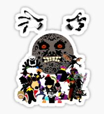 Villains of Nintendo Sticker