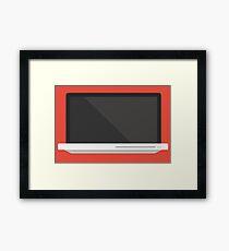 Macbook Pro Framed Print