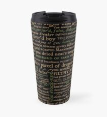Shakespeare Insults Dark - Revised Edition (by incognita) Travel Mug