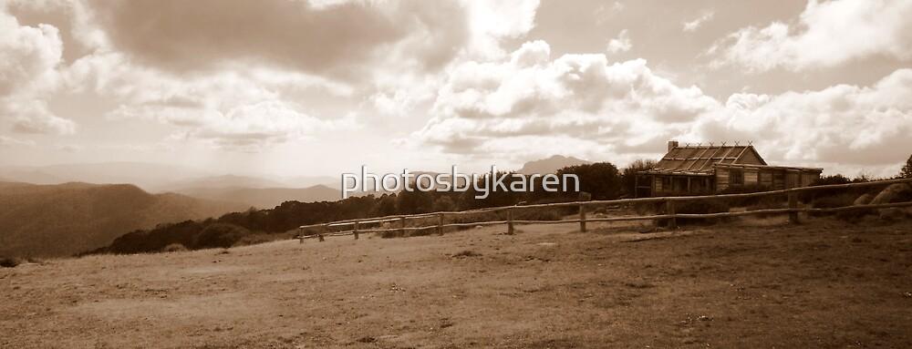 High Country Hut by photosbykaren