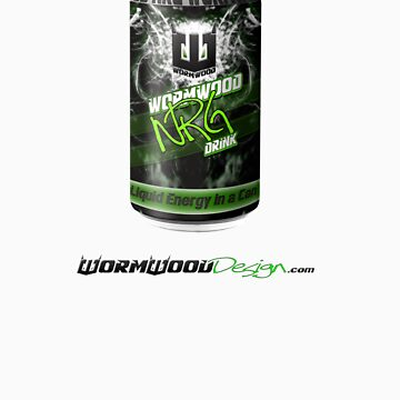 Wormwood NRG Drink Can by WormwoodDesign