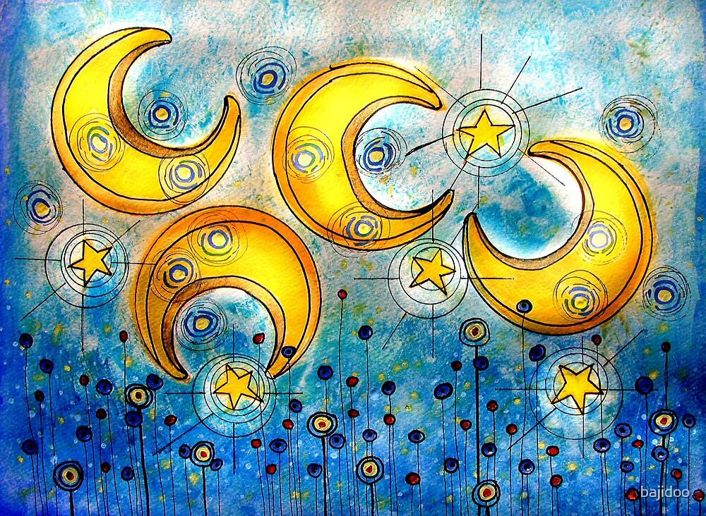 Under the Compass Moon by bajidoo