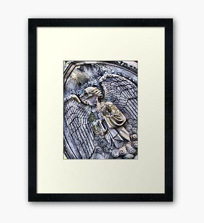 Faceless Angel Framed Print