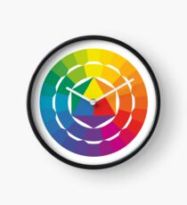 Extended Color Wheel by Itten Clock