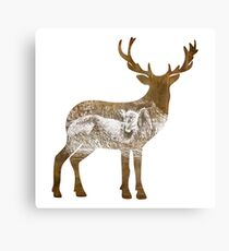 yes, dear (the silent type) Canvas Print