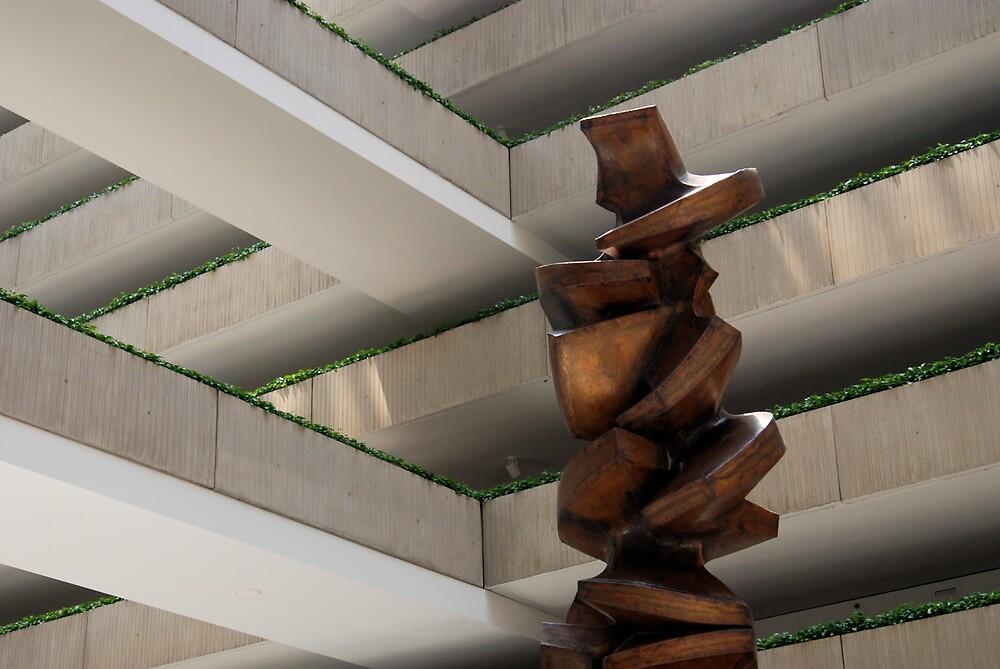 Sculpture at the Hyatt by Robert Baker