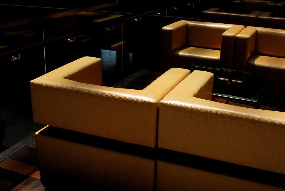 Chair at the Hyatt by Robert Baker