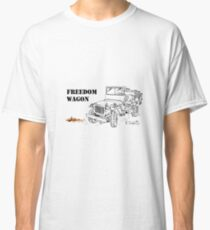 G503 jeep, the Freedom Wagon! (1) Classic T-Shirt