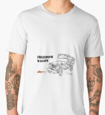 G503 jeep, the Freedom Wagon! (1) Men's Premium T-Shirt