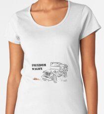 G503 jeep, the Freedom Wagon! (1) Women's Premium T-Shirt
