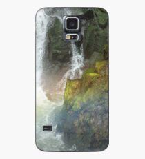 Waterfall Crashing Over Rocks Case/Skin for Samsung Galaxy