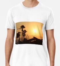 Tropical Cyprus Sunset Premium T-Shirt